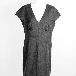 J Crew Factory Wool Blend Sleeveless Dress Sz 12